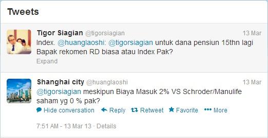 Tweet Pertanyaan @huanglaoshi