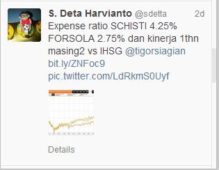 Tweet @sdetta